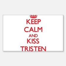 Keep Calm and Kiss Tristen Decal