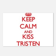 Keep Calm and Kiss Tristen Postcards (Package of 8