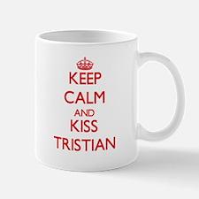 Keep Calm and Kiss Tristian Mugs