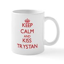 Keep Calm and Kiss Trystan Mugs
