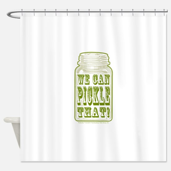We Can Pickle That! Shower Curtain