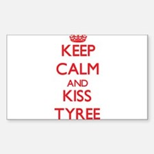 Keep Calm and Kiss Tyree Decal
