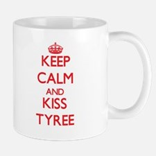 Keep Calm and Kiss Tyree Mugs