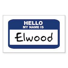 Elwood Decal