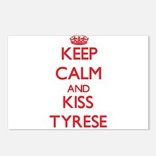 Keep Calm and Kiss Tyrese Postcards (Package of 8)