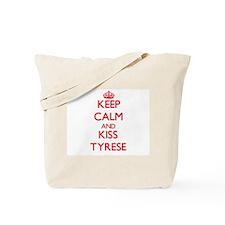 Keep Calm and Kiss Tyrese Tote Bag