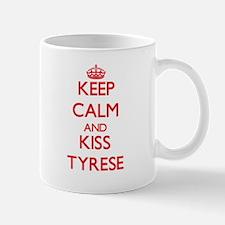 Keep Calm and Kiss Tyrese Mugs