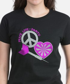 PEACE-LOVE-DARTS Tee