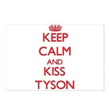 Keep Calm and Kiss Tyson Postcards (Package of 8)