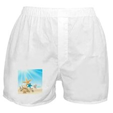 Summer Beach Boxer Shorts