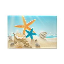 Summer Beach Magnets