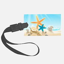 Summer Beach Luggage Tag