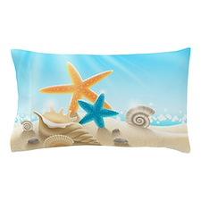 Summer Beach Pillow Case