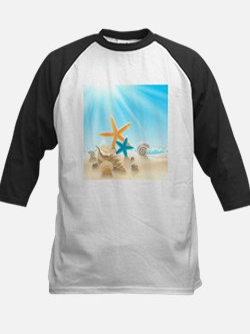 Summer Beach Baseball Jersey