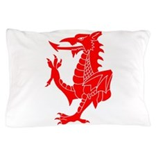 Welsh Red Dragon Pillow Case