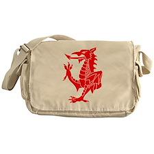 Welsh Red Dragon Messenger Bag