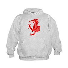 Welsh Red Dragon Hoodie