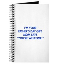 Im-your-fathers-day-gift-blue Journal