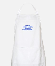 Im-your-fathers-day-gift-blue Apron