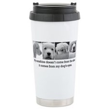 Cute Retriever bumper Travel Mug