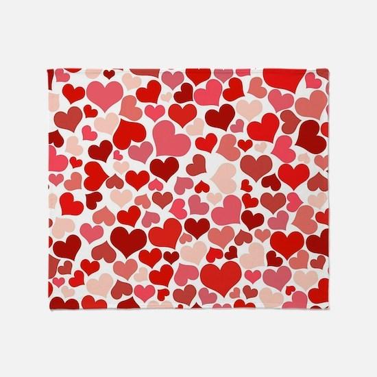 Heart 041 Throw Blanket