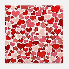 Heart 041 Tile Coaster