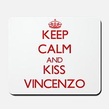 Keep Calm and Kiss Vincenzo Mousepad