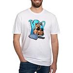 Garden Cairn Fitted T-Shirt