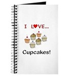 I Love Cupcakes Journal