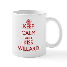 Keep Calm and Kiss Willard Mugs