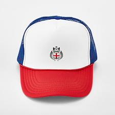 Soccer England Vintage Crest Trucker Hat