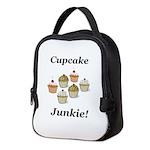 Cupcake Junkie Neoprene Lunch Bag