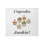 Cupcake Junkie Throw Blanket