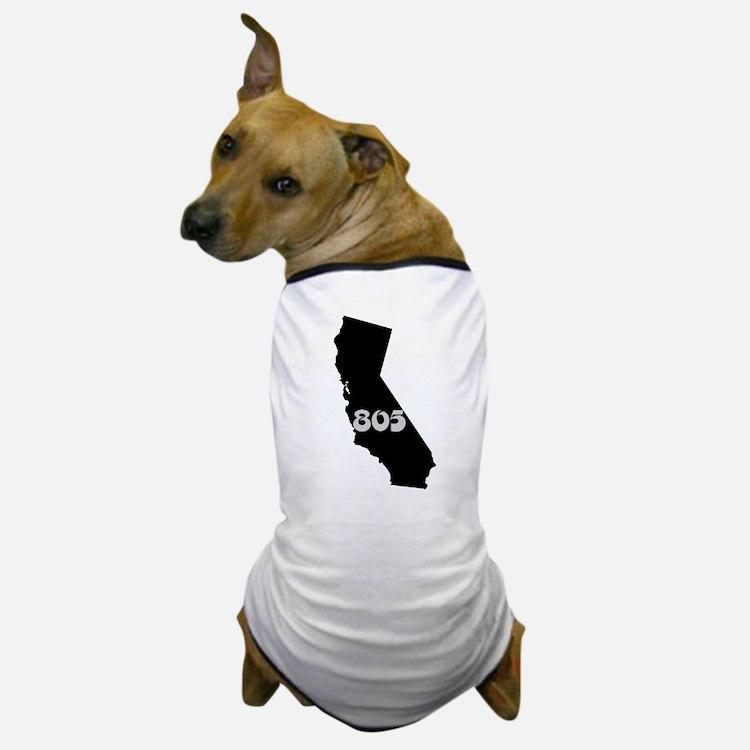 CALIFORNIA 805 [3 black/gray] Dog T-Shirt