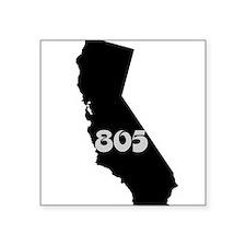 CALIFORNIA 805 [3 black/gray] Sticker