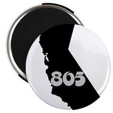 CALIFORNIA 805 [3 black/gray] Magnets