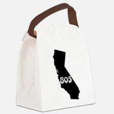 CALIFORNIA 805 [3 black/gray] Canvas Lunch Bag