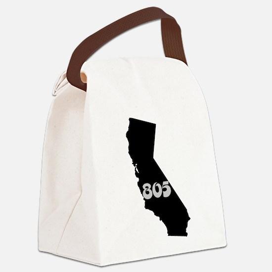 CALIFORNIA 805 [3 black/gray] Canvas Lunch Bag