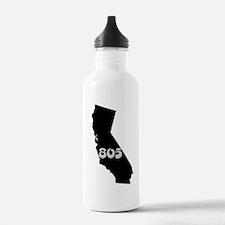 CALIFORNIA 805 [3 black/gray] Water Bottle