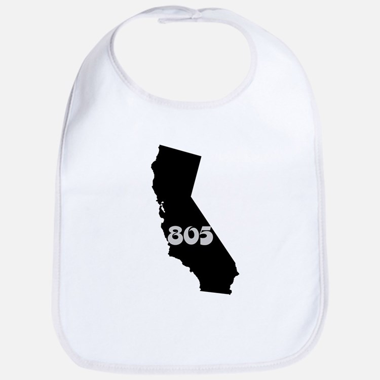 CALIFORNIA 805 [3 black/gray] Bib
