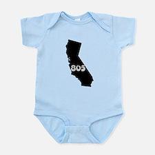 CALIFORNIA 805 [3 black/gray] Body Suit