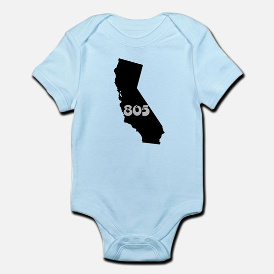 CALIFORNIA 805 [3 black/gray] Body Suit