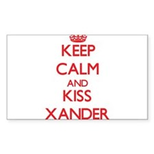Keep Calm and Kiss Xander Decal
