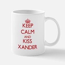 Keep Calm and Kiss Xander Mugs