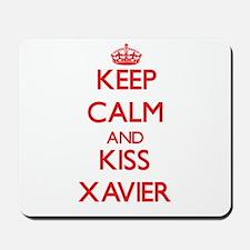 Keep Calm and Kiss Xavier Mousepad