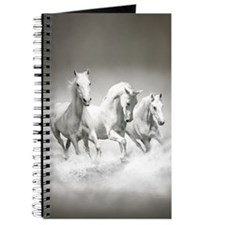 Wild White Horses Journal