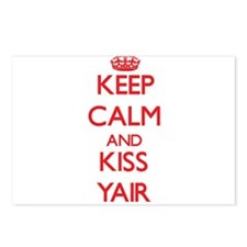 Keep Calm and Kiss Yair Postcards (Package of 8)