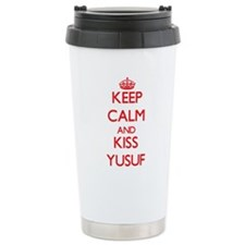 Keep Calm and Kiss Yusuf Travel Mug