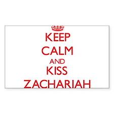Keep Calm and Kiss Zachariah Decal