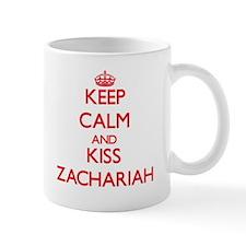 Keep Calm and Kiss Zachariah Mugs